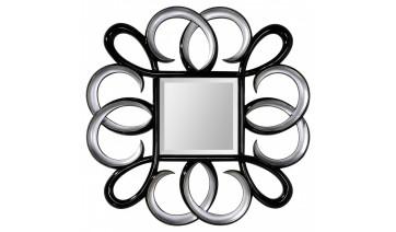 Зеркало Rolf чёрный с серебром