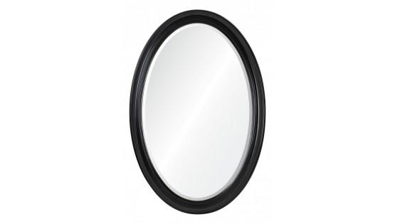 Зеркало Ashton черное