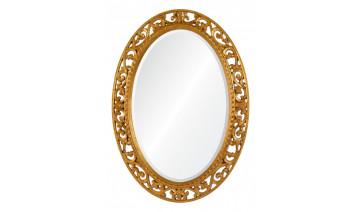 Зеркало Rosalie золото