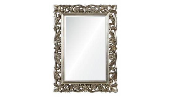 Зеркало античное серебро