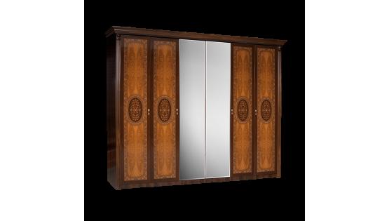 Шкаф 6-ти дв. «Карина-2» (с зеркалами)