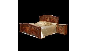 Кровать «Карина-3» (1,6 м) (2 спинки - шелкография) с подъемным механизмом