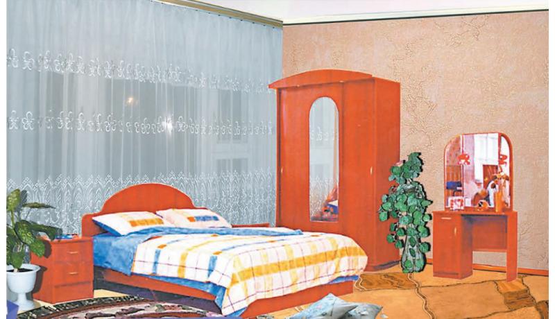 Спальный гарнитур «Гамма-2»