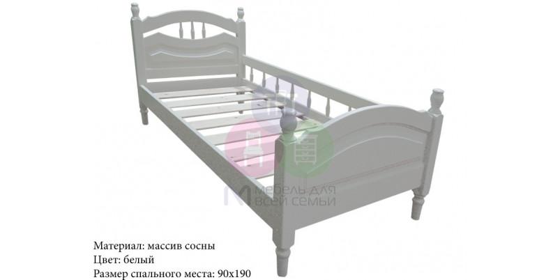 Кровать «Исида» с бортиком
