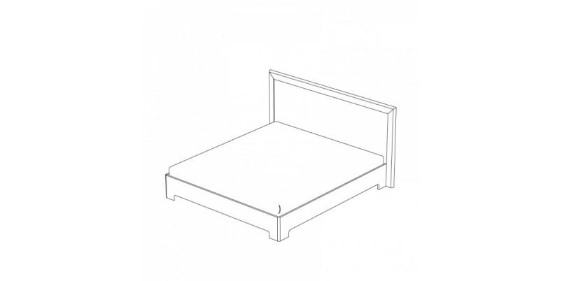 кровать-1 с подъемным основанием 1400