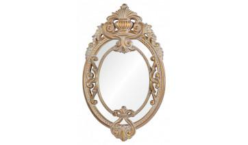 Зеркало Livorno золото с белым напылением