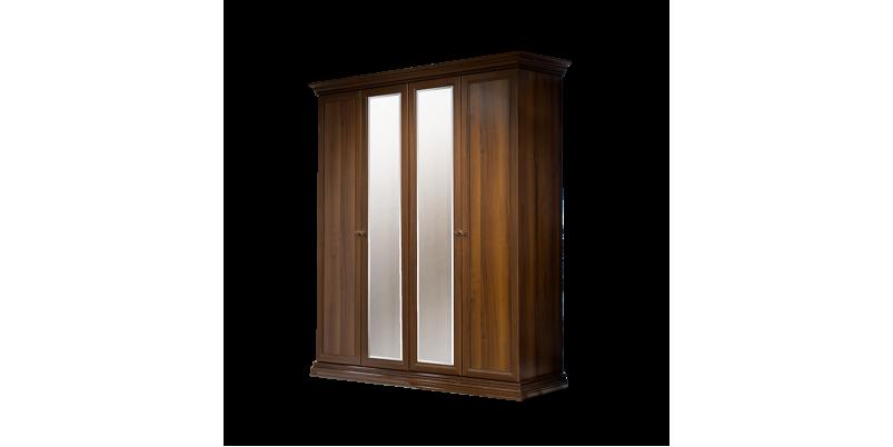 Шкаф «Амели» 4-х дв. (с зеркалами)