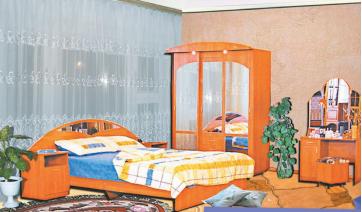 Спальный гарнитур «Гамма-1»