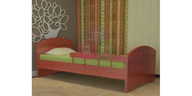 Детская кровать «Жанна» с бортиком