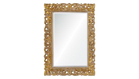Зеркало Angelica золото с белым напылением