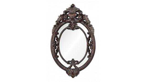 Зеркало Livorno темный орех