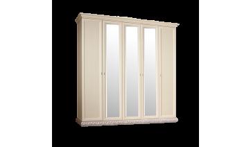 Шкаф «Тиффани» 5-ти дверный с зеркалами