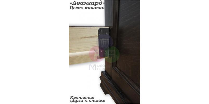 """Кровать """"Авангард"""""""