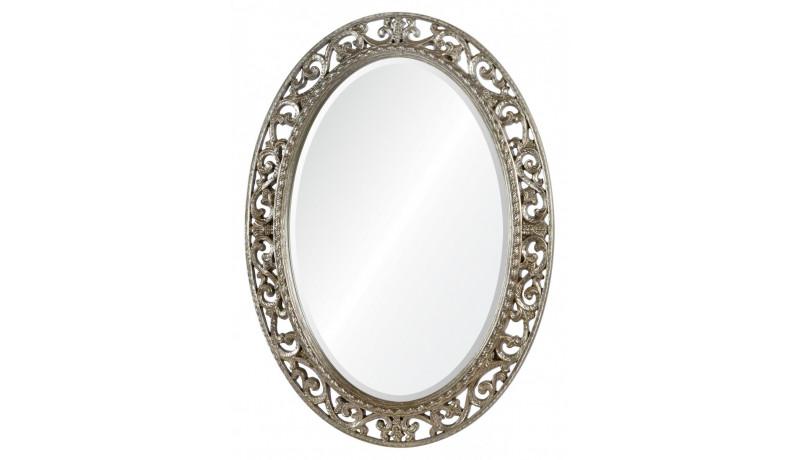 Зеркало Rosalie серебро