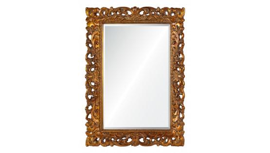 Зеркало Angelica античное золото