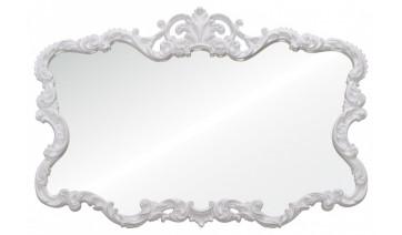 Зеркало Victoria белое