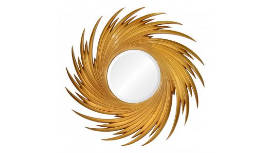 Зеркало Fortuna золото