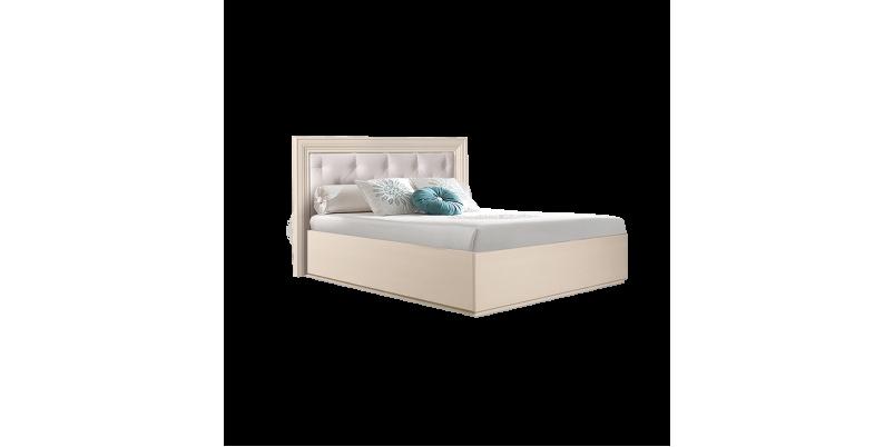 Кровать «Амели» (1,6 м) с мягким элементом с подъемным механизмом