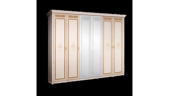 Шкаф 6-ти дв. «Карина-3» (с зеркалами)