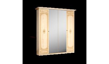 Шкаф «Европа-11» 4-х дв. (с зеркалами)