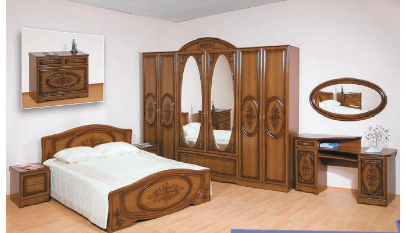 Спальный гарнитур «Василиса-3»