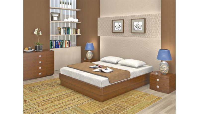 Кровать TORIS «Юма К» без спинки