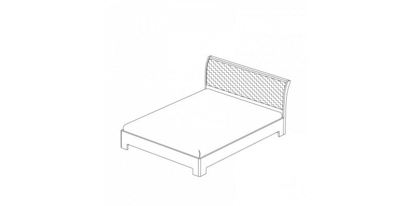 кровать-3 с подъемным основанием 1600