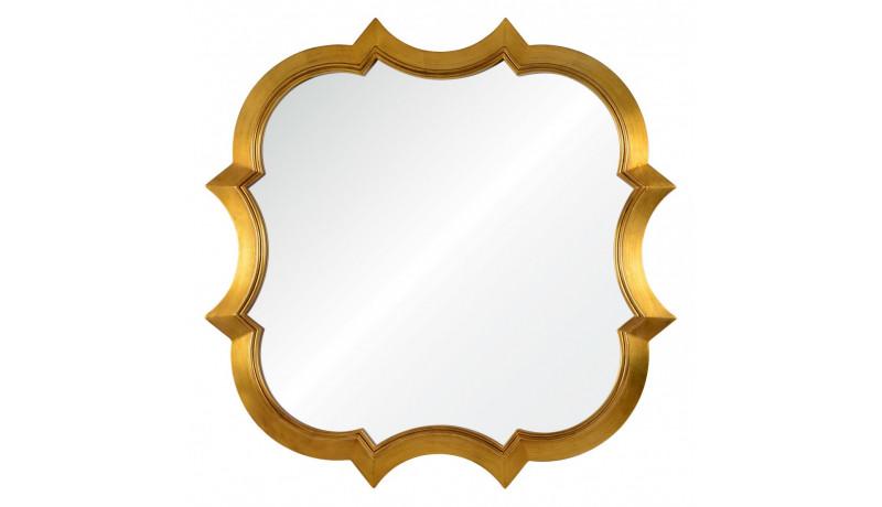 Зеркало Krystal золото