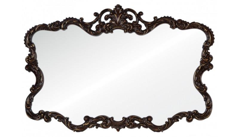 Зеркало Victoria темный орех