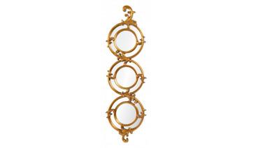 Зеркало Amelia античное золото