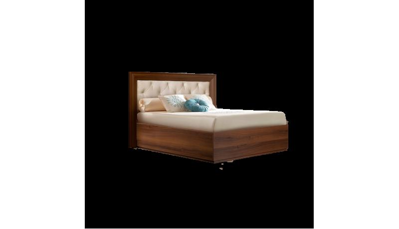 Кровать «Амели» (0,9 м) с мягким элементом с подъемным механизмом