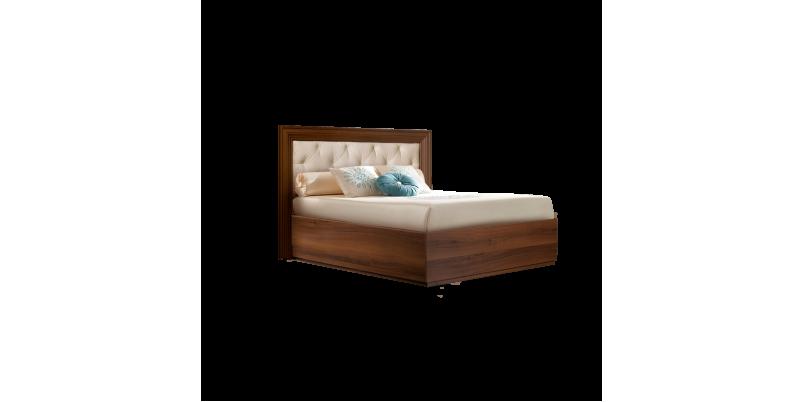 Кровать «Амели» (1,6 м) с мягким элементом