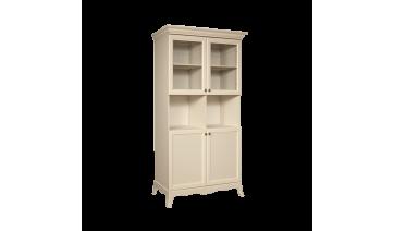 Шкаф «Амели» 2-х дв. (две малые двери и два витража) на ножках