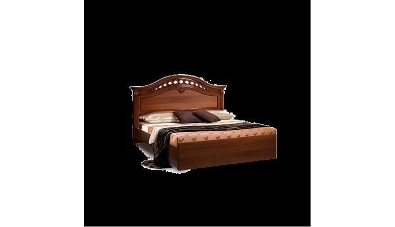 Кровать «Европа-7» (1,6 м) (Delia) без лежака с одной спинкой