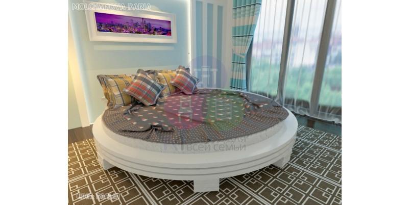 Круглая кровать «Арена-1»